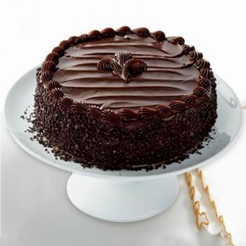 Half Kg 5 Star Chocochip Chocolate Fudge Cake