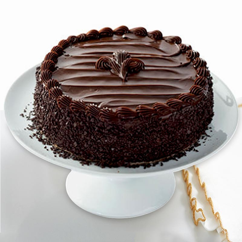Chocochip Fudge Cake