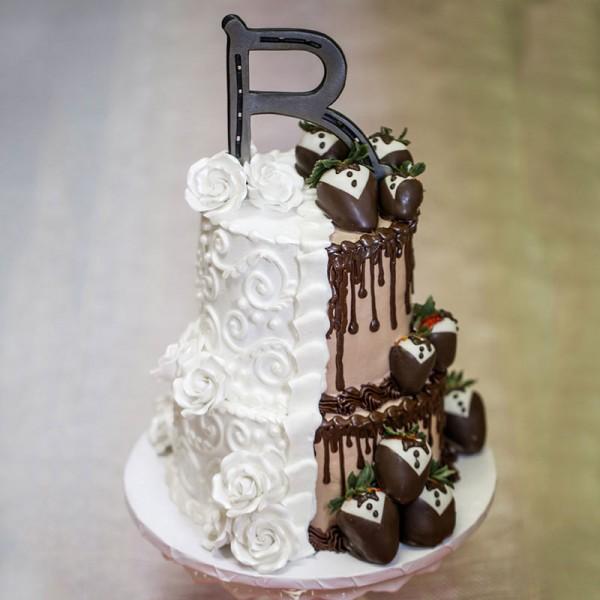 Alphabet 2 Tier Cake