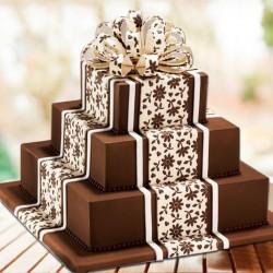 3 Kg (3 Tier) Chocolate Designer Cake