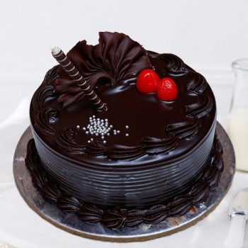 Half Kg Sugarfree Belgium Chocolate Cake