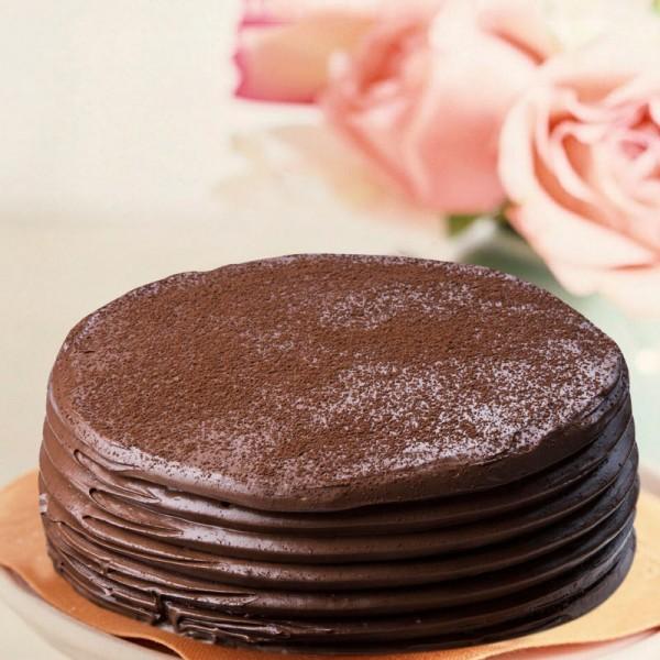 Half Kg Belgium Chocolate Cake