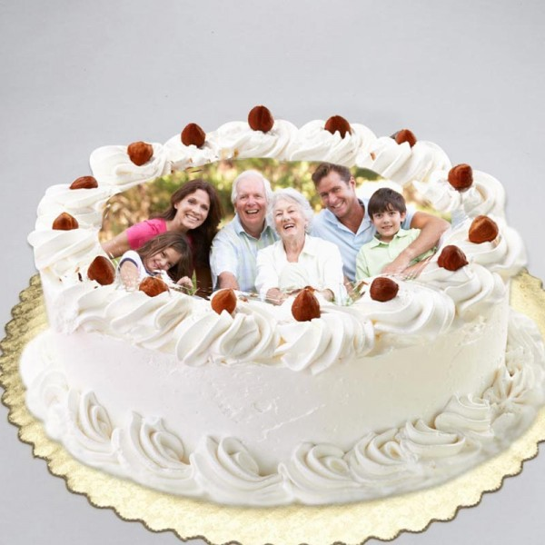Photo White Forest Cake
