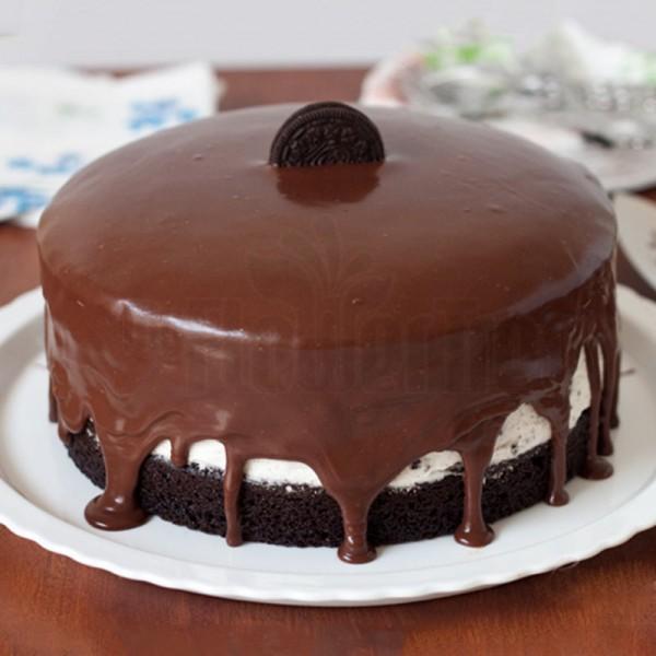 Half Kg Chocolate Oreo Cake