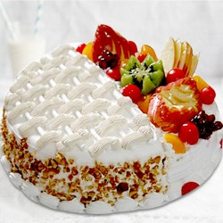 Vanilla-Fruit Cake