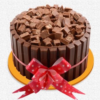Half Kg KitKat Chocolate Cream Cake