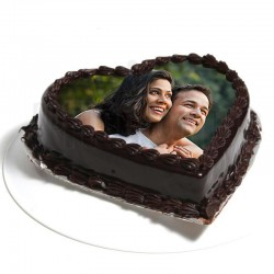 Photo Love Truffle Cake