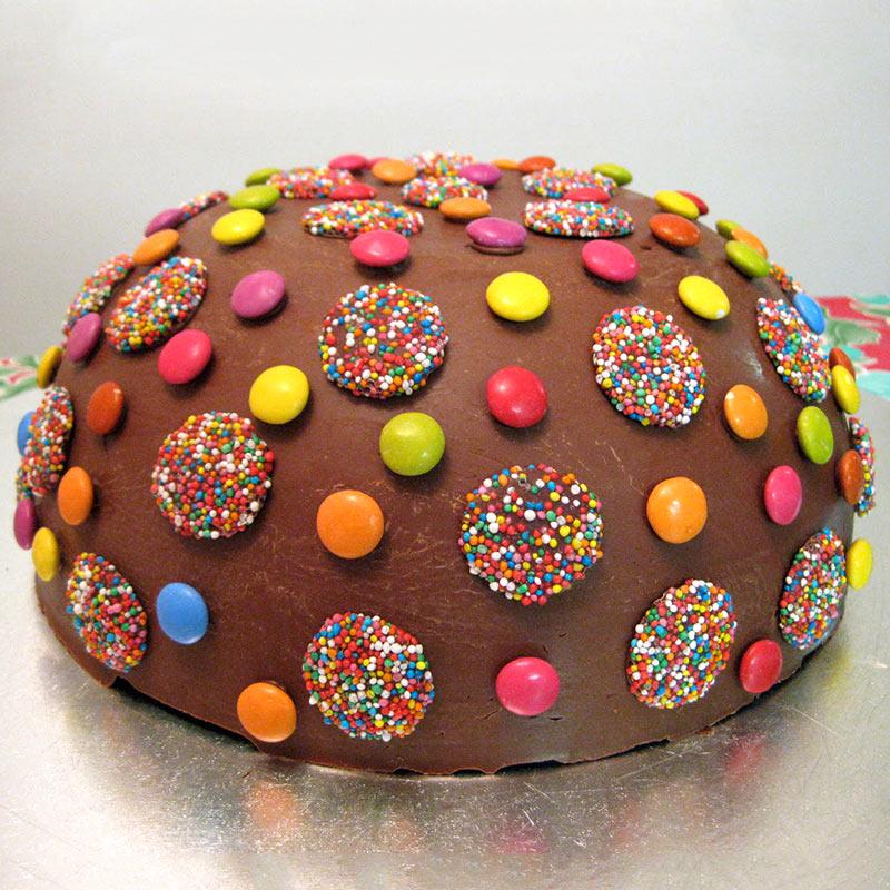 Rainbow Gems Cake - MyFlowerTree