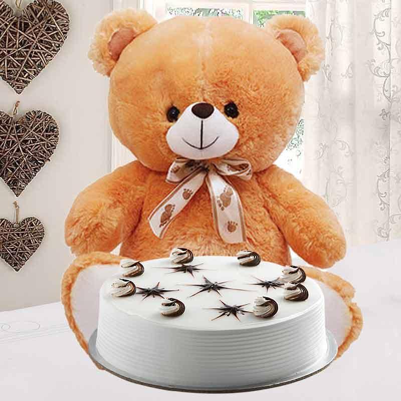 Vanilla Cake Combo