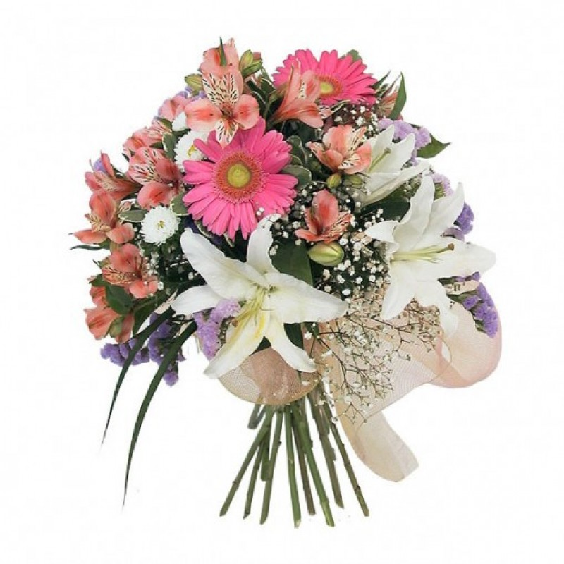 Pink n White Bouquet