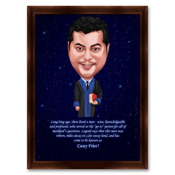 Mr. Boss Caricature