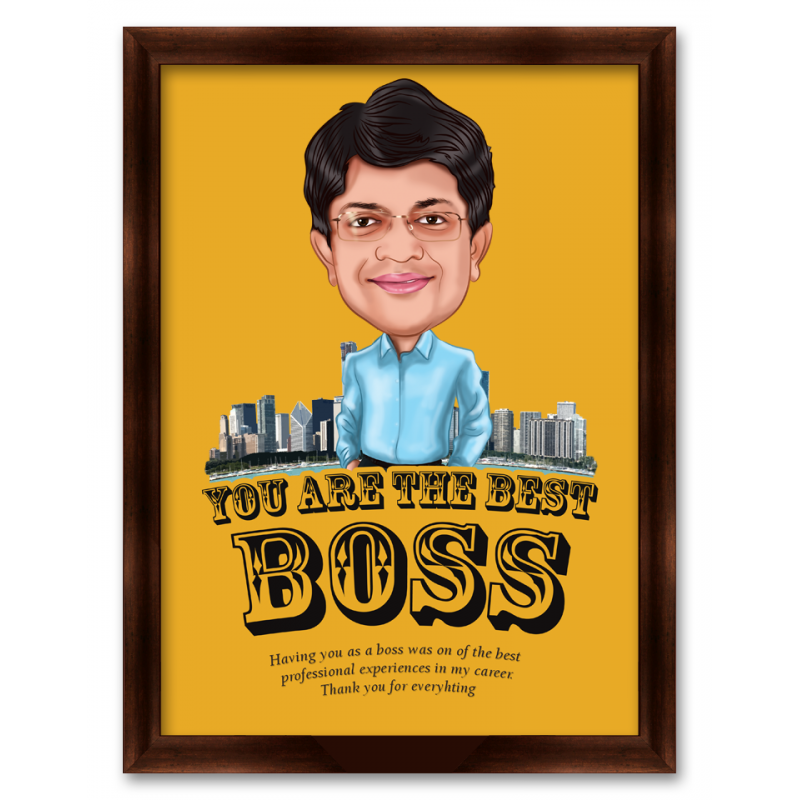 Best Boss Caricature