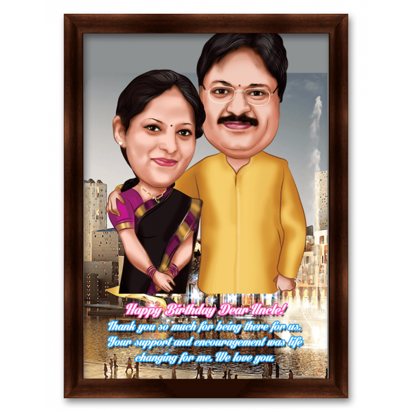 Shrimaan Caricature