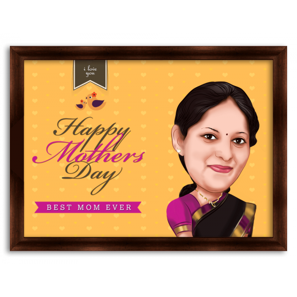 Mothers Day Caricature