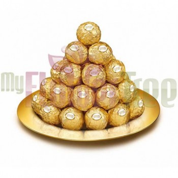 Bouquet of 36 pcs Ferrero Rocher Chocolate
