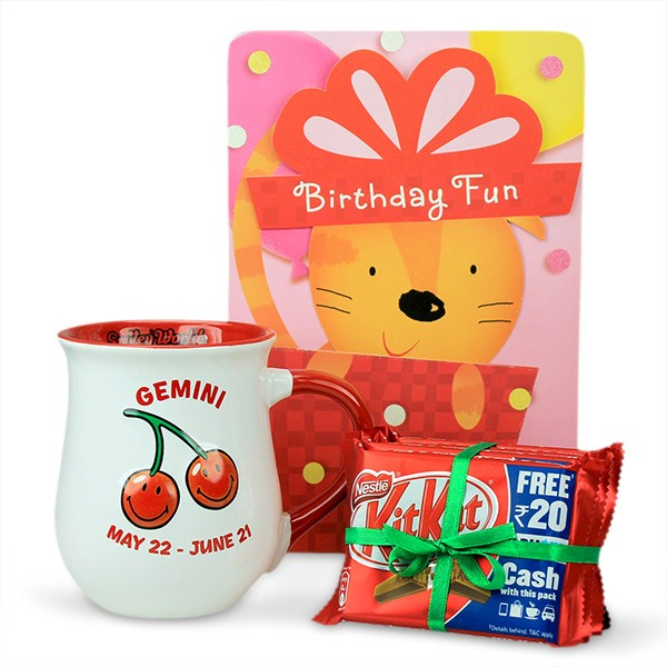 Gemini Birthday Fun Hamper