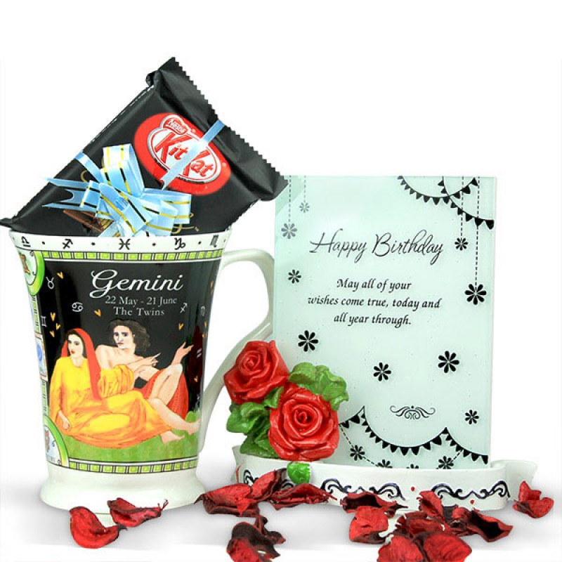 Gemini Birthday Gift Hamper