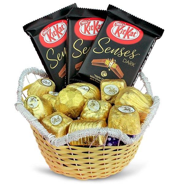 Delicious Chocolates Basket
