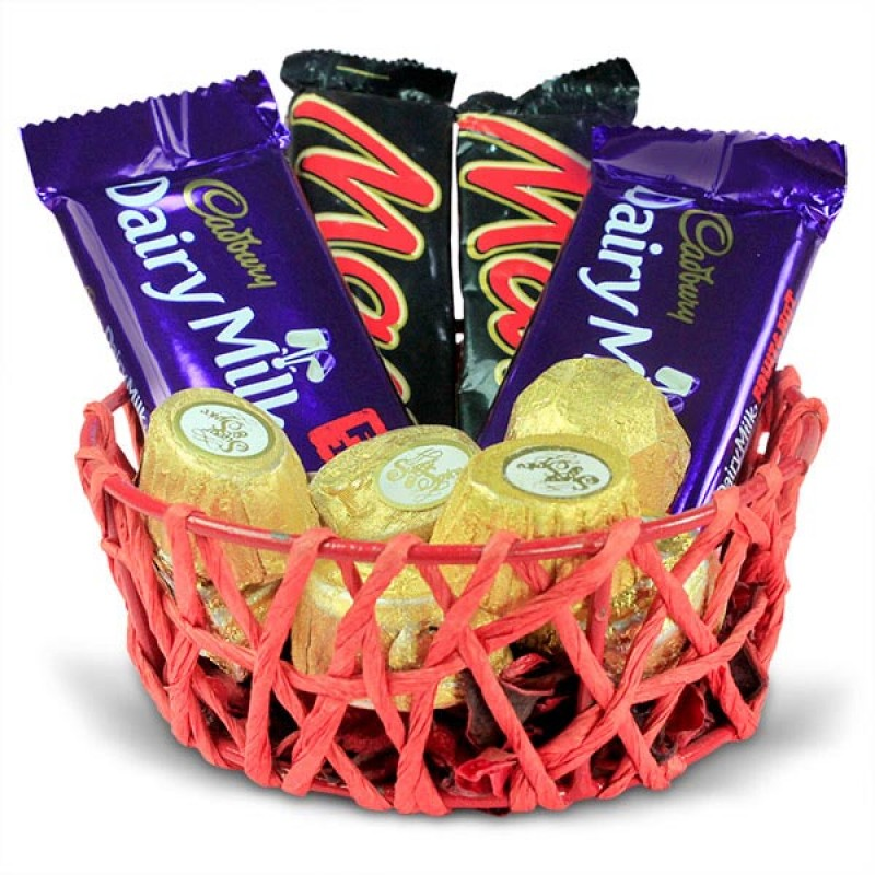 Chocolaty Basket Hamper