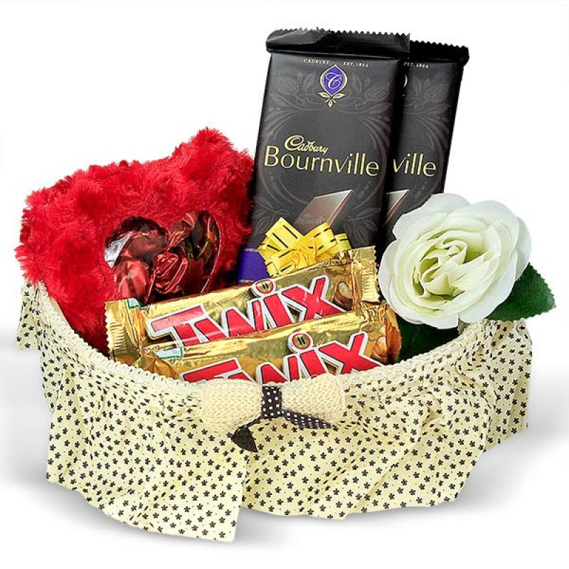 Chocolates Basket Gift Hamper