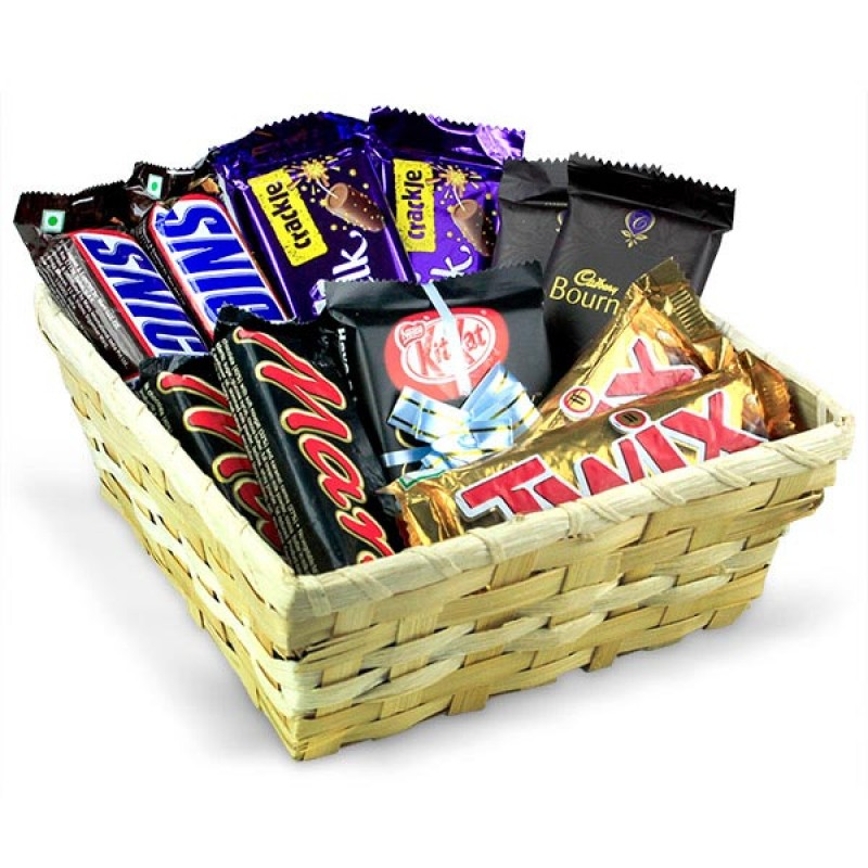 Chocolicious Gift Basket Hamper