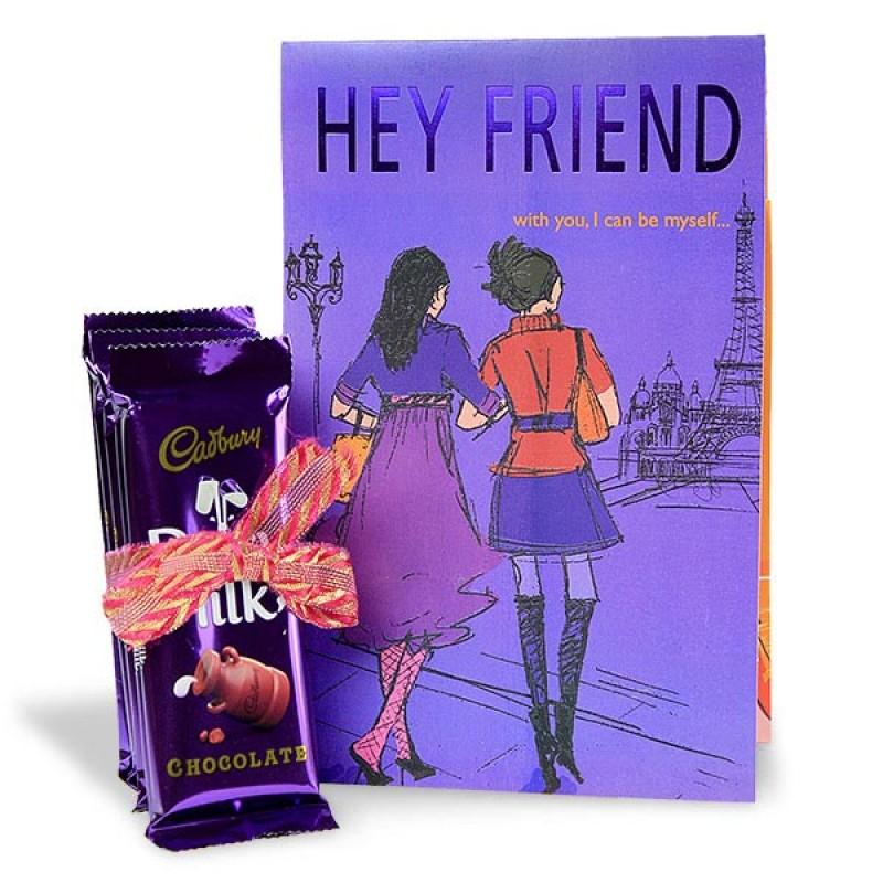 Chocolaty Hamper for My Friend
