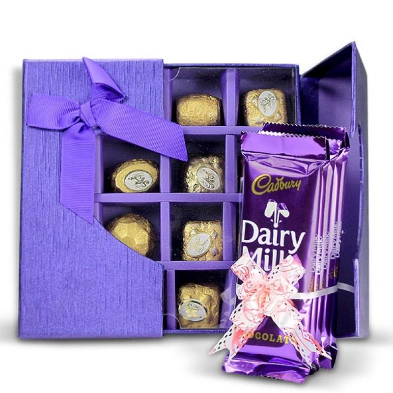 Mouthwatering Chocolates Hamper
