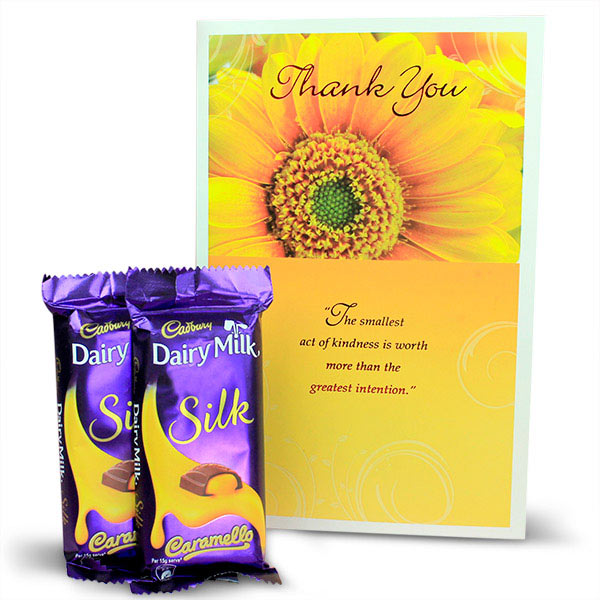 Chocolates and Thank You Card Hamper