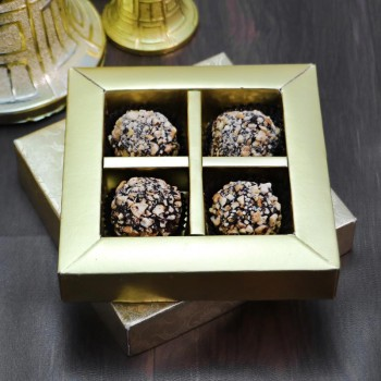 4 Pcs Homemade Chocolates