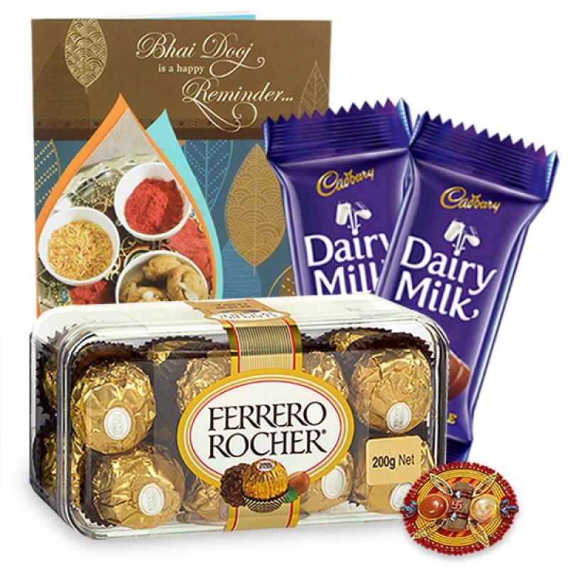 Chocolaty Bhai Dooj Hamper