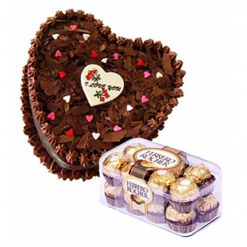 Lovers Chocolate Combo