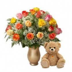 Send Flowers and Cake Combo in Gurgaon
