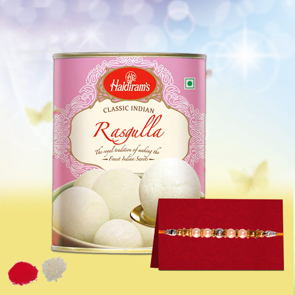 RAKHI AND RASGULLA