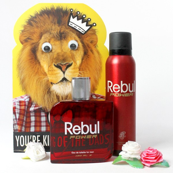 Fragrance Set with Greeting Card for Dad