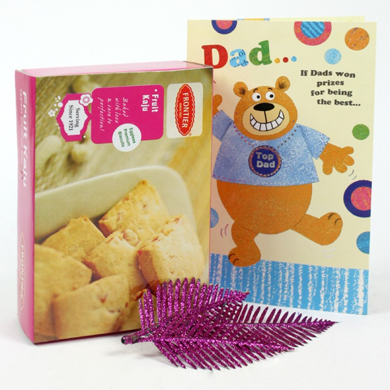 Fruit Kaju Cookies n Greeting Card