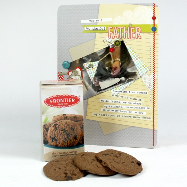 Chocolate Cookies n Card Hamper