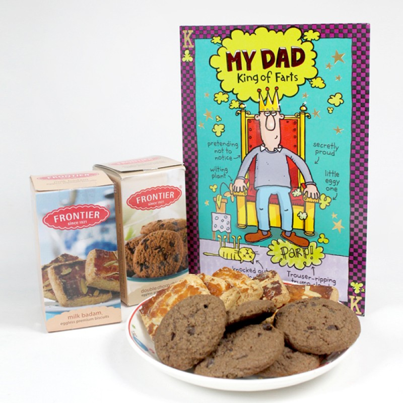 Cookies n Greeting Card for My Dad