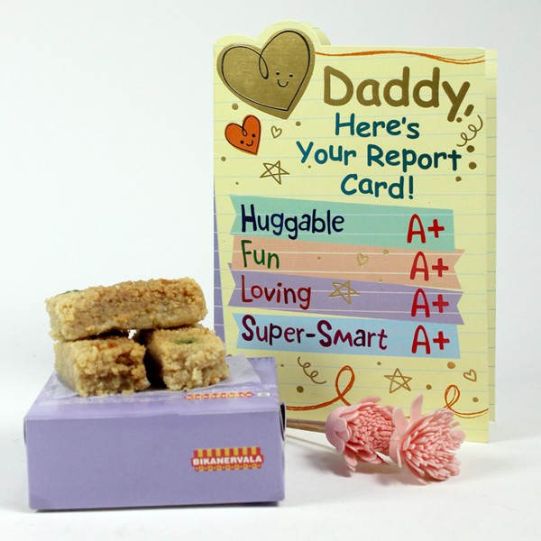 Milk Cake n Greeting Card Hamper