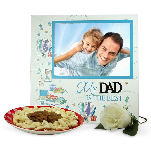 Photo Frame n Dryfruits Hamper