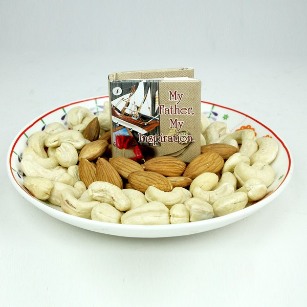 Dryfruits n Quotation Book Hamper
