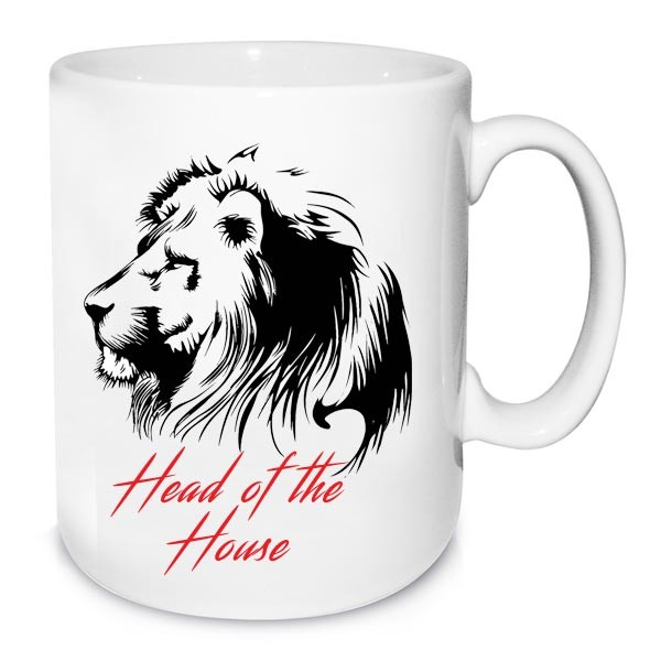 Head Of The House Personalized Mug