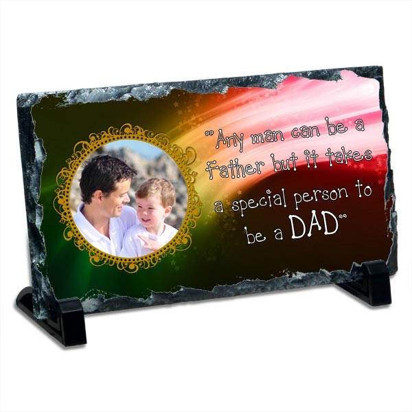 Special Dad personalized Photo Stone