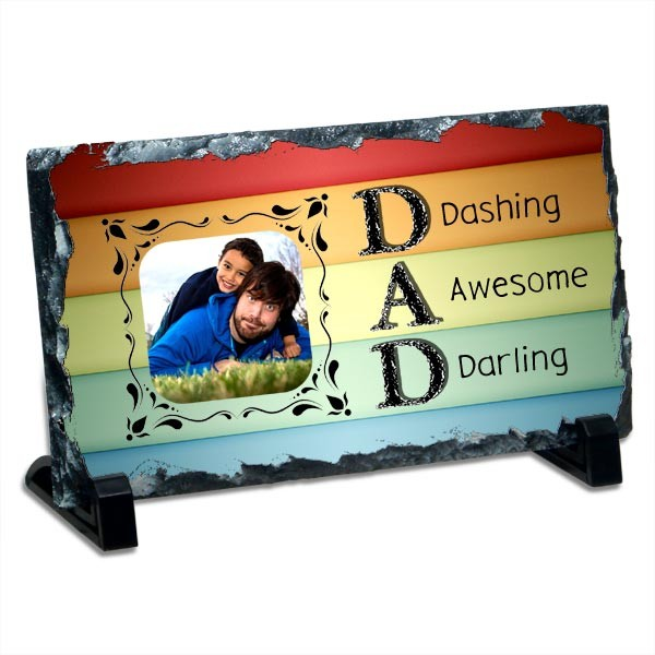 Dad personalized Photo Stone