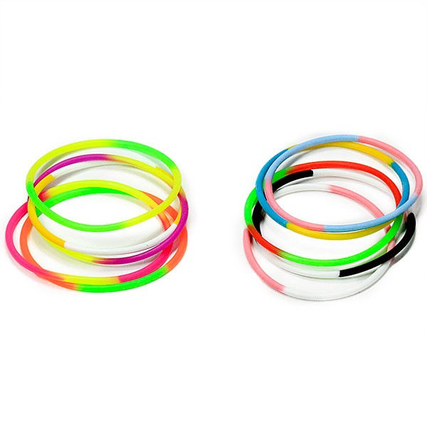 Funky Multi-colored Wristbands