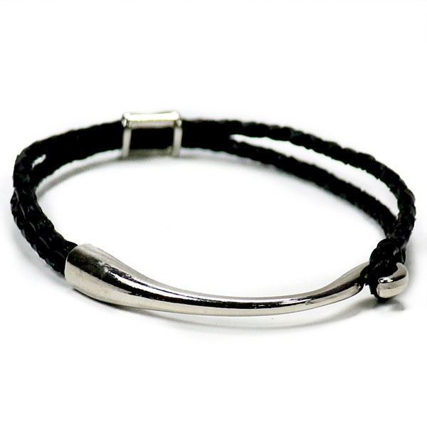 Braided Black Unisex Friendship Bracelet