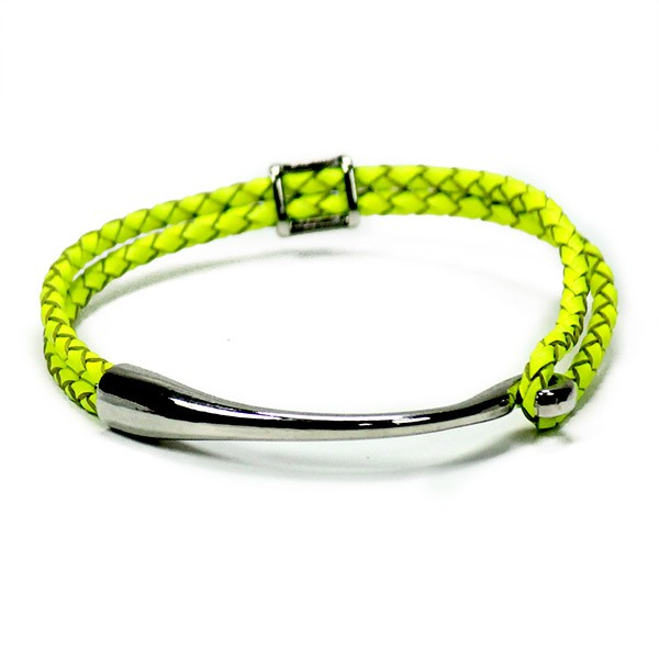 Neon Yellow Friendship Band