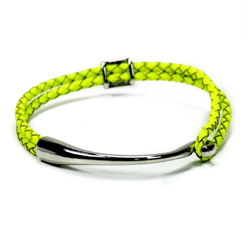Neon Yellow Friendship Band