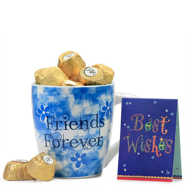 Friends Forever Mug n Handmade Chocolates
