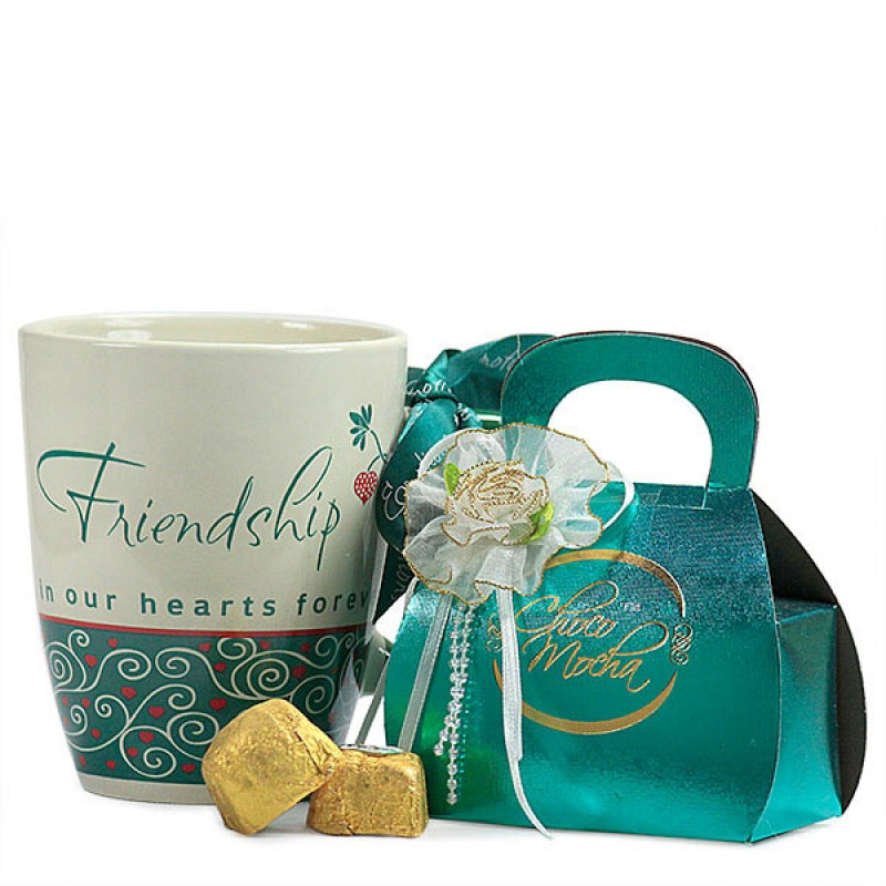 Choco Mocha Mug n Friendship Mug Hamper