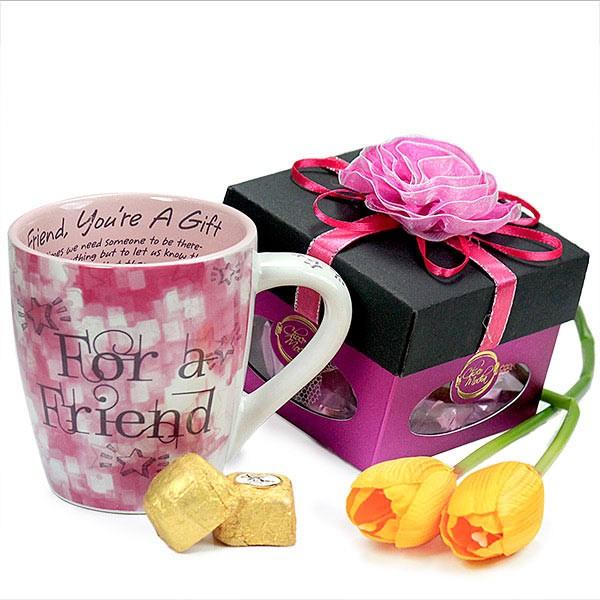 Chocolates n Friendship Mug Hamper